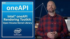 Intel® Open Volume Kernel Library | oneAPI | Intel Software