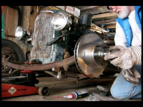 Ratrod Disc Brake Conversion In A Minute And A Half Youtube