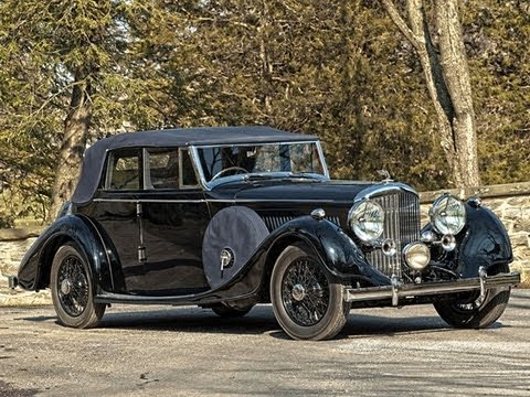 1938 Bentley 4¼ Litre All Weather Tourer by Thrupp & Maberly