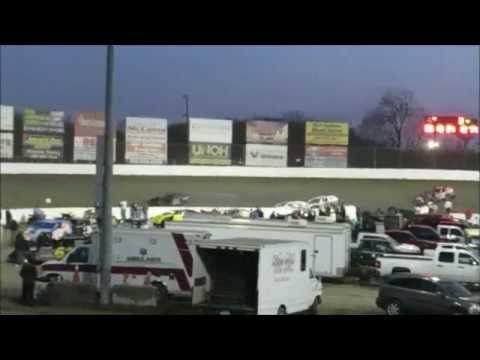 I 55 Raceway 4 4 2015 A Mod 1st Heat Dave Armstrong #34