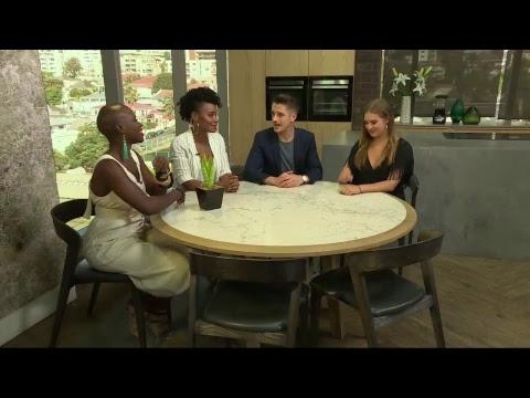 Gemma Griffiths & Jessica Nabongo   Afternoon Express   15 November 2017