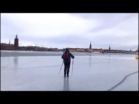 Stockholm City Ice Skating march 2018