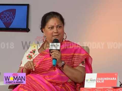 "CM Vasundhara Raje: ""Don't Believe In Opinion Polls, Wait For December"" | IT Woman Summit '18"