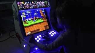 Sonic the Hedgehog - SEGA -  Bartop Arcade Game Machine