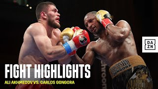 HIGHLIGHTS | Ali Akhmedov vs. Carlos Gongora