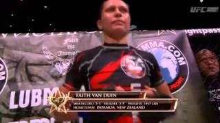 Cyborg  vs  Faith Van Duin -1st Round KNOCK OUT!!!! (7/11/2015)