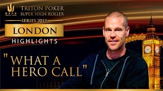 What a hero call by Patrik Antonius! Triton London 2019
