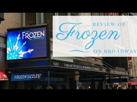 Frozen on Broadway Overview & Review (Update: Stock date is 4/11/18!)