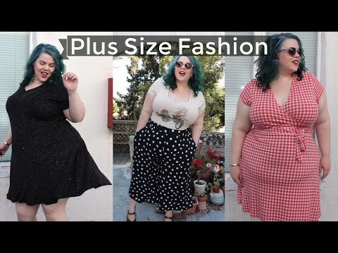 Plus Size Dress Try On Haul | Maurices, Leota, Kiyonna + True Vintage!