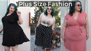 Vintage & Sustainable Plus Size Fashion Try On Haul - Vloggest