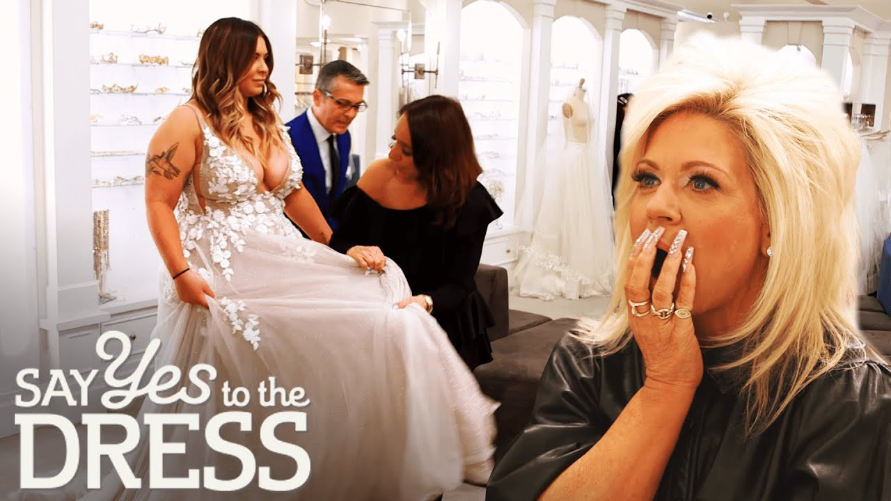 Theresa & Victoria Caputo Fall In Love With Two Different Dresses  Say Yes  To The Dress America