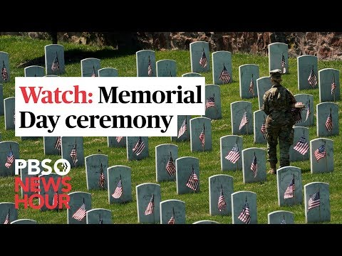 WATCH LIVE: Memorial Day ceremony at Arlington National Cemetery