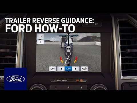 How To Use Trailer Reverse Guidance | Ford How-To | Ford