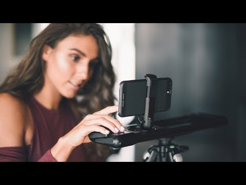 ROV Camera Slider - Take better videos on your iPhone & DSLR