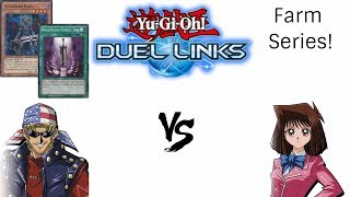 yu gi oh duel links lvl40 tea vs bauo farm to tired idk what im talking about