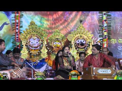 Manasi Patra performing Bhajan at Jagannath Temple Bhadrak