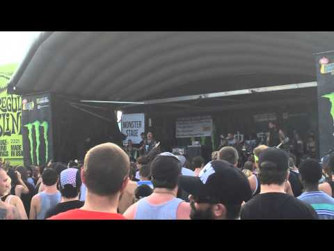 Vanna - Safe to Say (Live) Warped Tour Camden 7/11/14