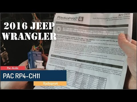 install an aftermarket radio in a trailblazer ss splicing and  programming a pac rp4-ch11 radiopro4 to a joying in a