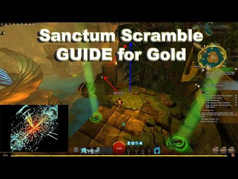 [GW2] Sanctum Scramble - GUIDE for Gold