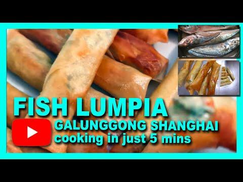 Fish Lumpia (Galunggong Shanghai)... In 5mins