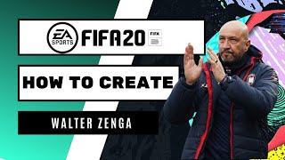 How to create walter zenga for fifa 20 career modeplease like and subscribeif subscribed, leave a comment on who you would see created virtual pr...