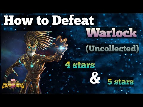 How to Defeat Warlock Quick Guide |Uncollected| Marvel Contest of Champions