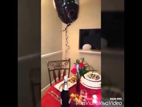 Cena rom ntica para mi esposo de cumplea os youtube - Comidas para cumpleanos en casa ...