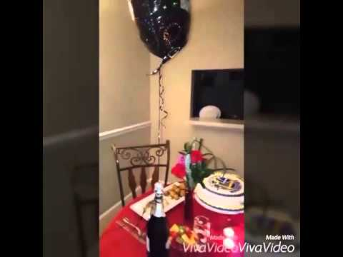 Cena rom ntica para mi esposo de cumplea os youtube - Sorpresas romanticas en casa ...