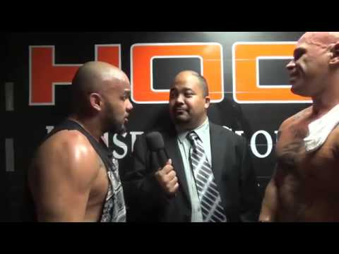 Hernandez and Homicide interview from the House of Glory Fight for Gold Show