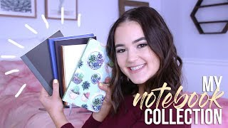 My Notebook Collection + Supplies! (How To Fill Notebooks) | Reese Regan