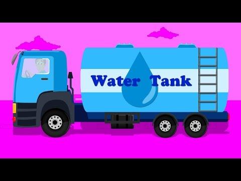 Water Tanker | Street Vehicle | Truck for Kids | Cartoons for Children & Babies