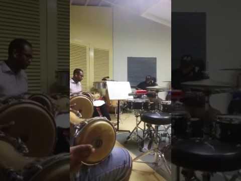 reherseal curayubata jazz,at ccc music academy curacao the netherlands antilles
