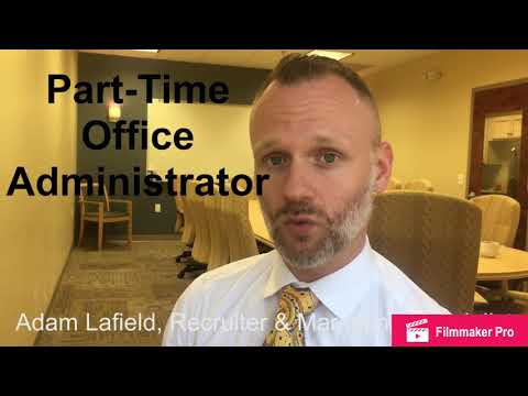 Part-Time Office Administrator