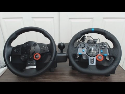 Unboxing Volante Logitech Driving Force G29 y comparación con Driving Force GT