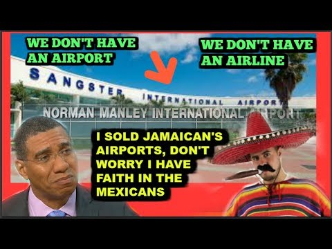 ANDREW SELL OUT JAMAICA'S AIRPORTS
