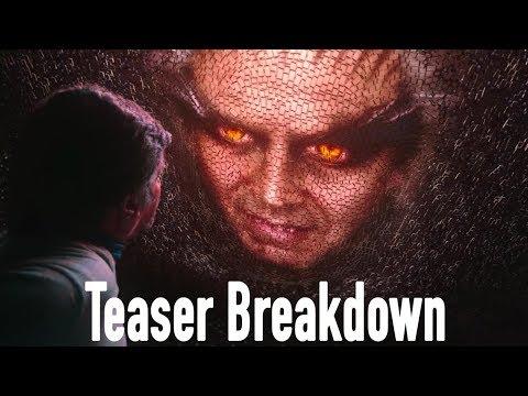 2.0 Teaser Breakdown   Rajinikanth   Akshay Kumar   A R Rahman   Shankar