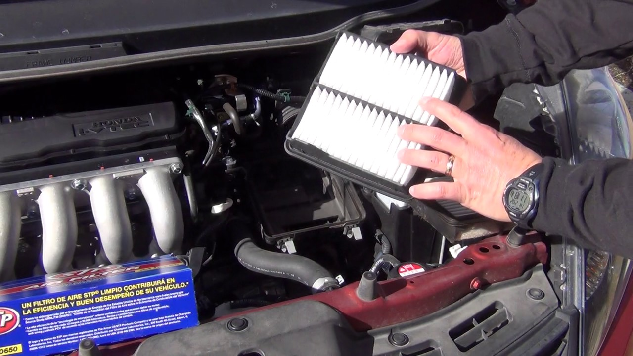 Good How To Replace Air Filter 2012 Honda Fit
