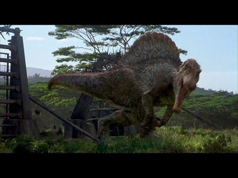 Jurassic park spinosaurus tribute youtube - Spinosaurus jurassic park ...