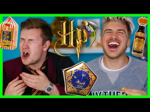 TRYING HARRY POTTER CANDY! W/OLI WHITE