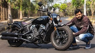 Indian Scout Bobber Review - Sexy, Naughty, Bitchy | Faisal Khan