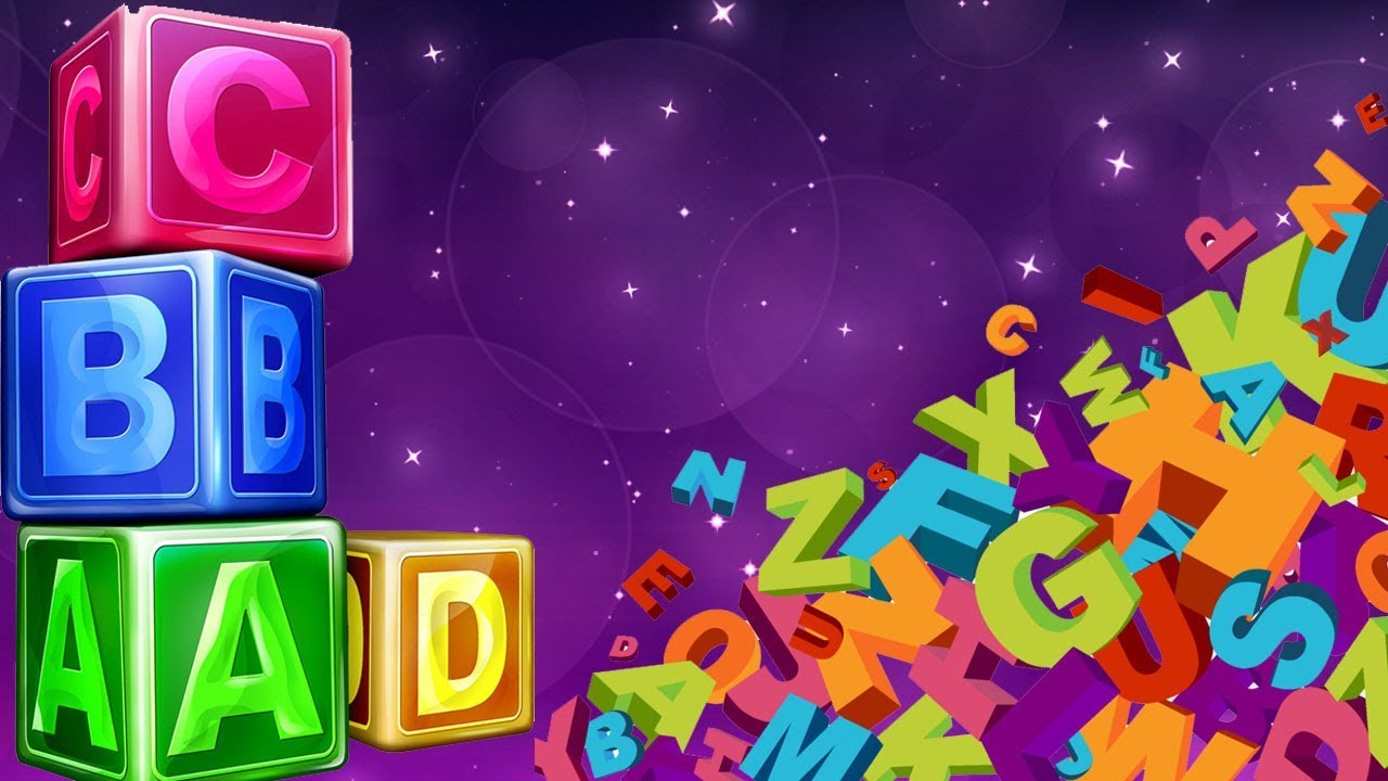 Learn ABCDE - A For Apple, B For Ball, C For Cat, D For Dog - Learning Alphabets For Children