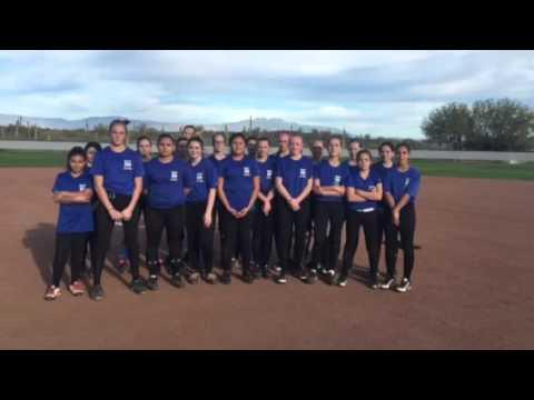 2015–2016 fountain Hills middle school softball team