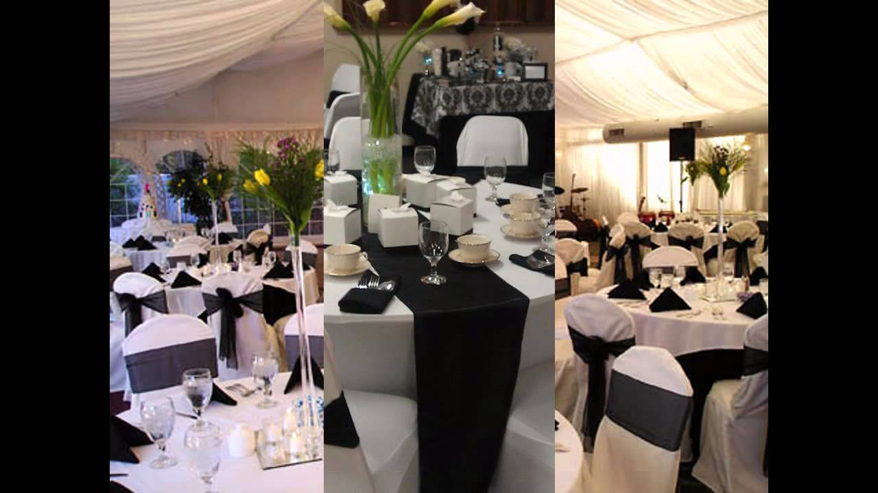 Black and white themed wedding decorations ideas wedding trend black and white themed wedding decorations ideas junglespirit Image collections