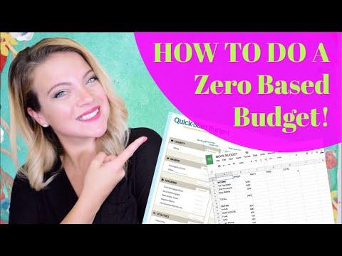 How to do a basic budget :)