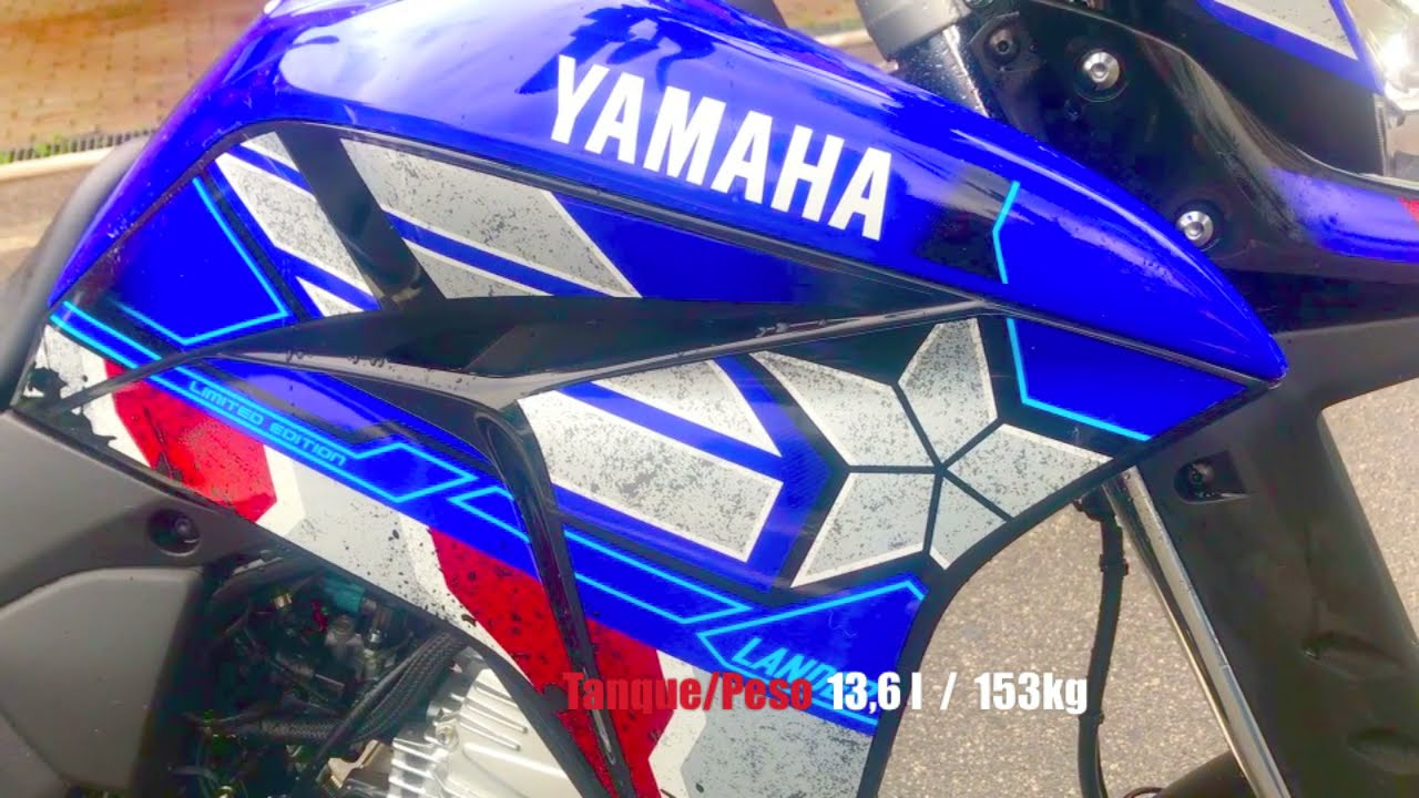Yamaha Lander Capitão América 2021 - Teste - VÍDEO