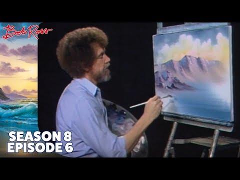 Bob Ross - Bubbling Mountain Brook (Season 8 Episode 6)