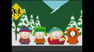 Eric Cartman putting butter's wiener in his mouth