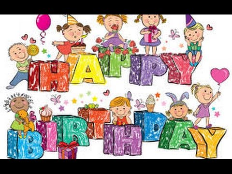 Happy Birthday Song Nonstop For Kids | Happy Birthday Song For Children