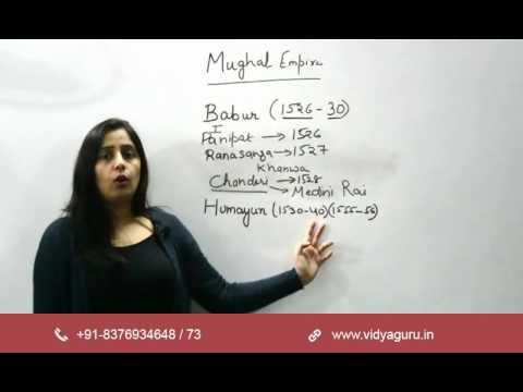 SSC CGL Exam Preparation: GK (History of Mughals-I)