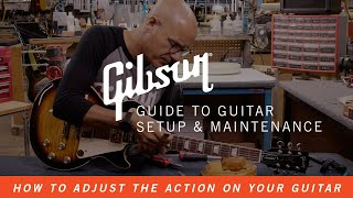 How To Adjust tнe Action on Your Guitar